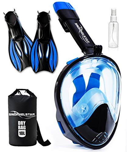 SNORKELSTAR Snorkel Drybag Anti Fog Adults product image