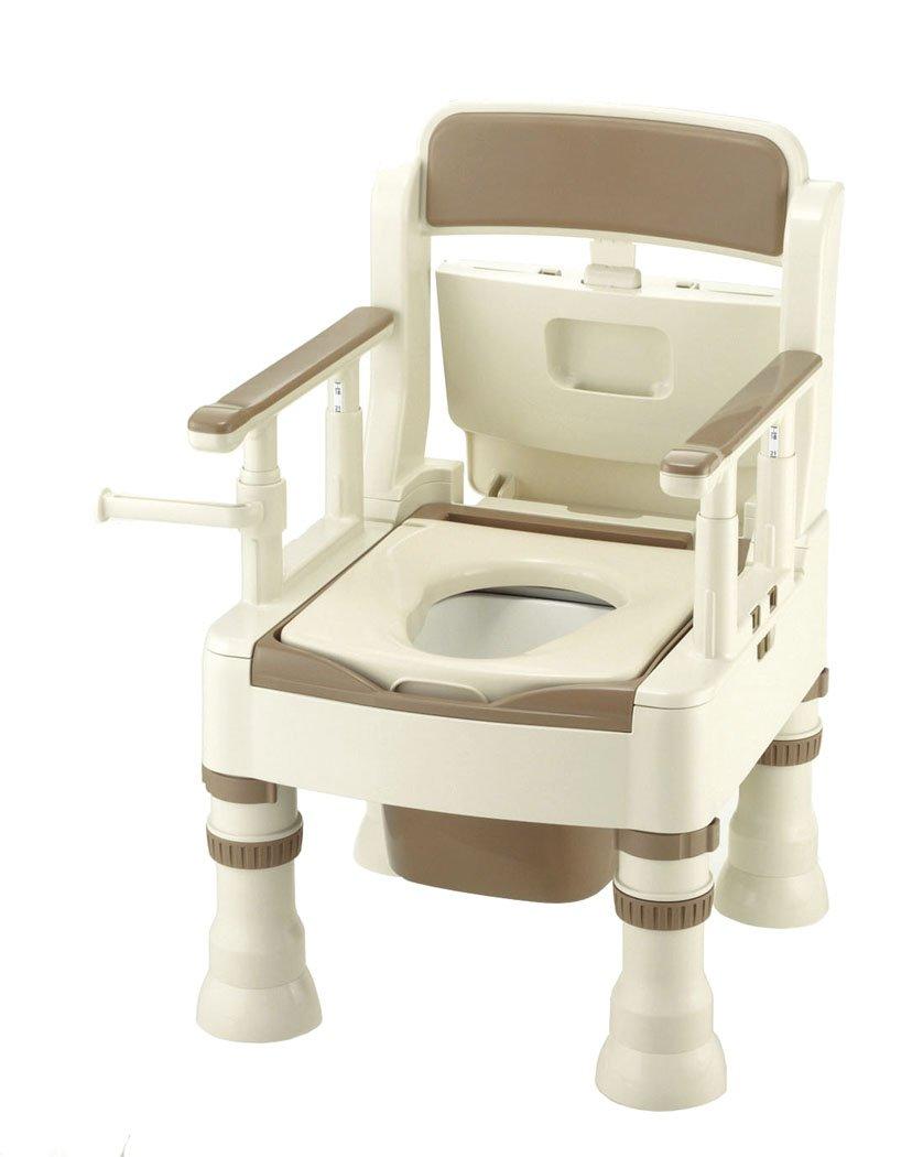 リッチェル ポータブルトイレ きらくMS型 45601(フツツ) アイボリー B003KLSN8C