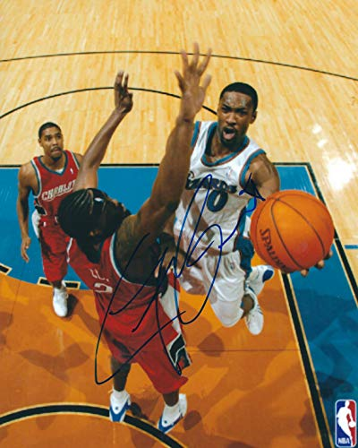 Autographed Gilbert Arenas 8x10 Washington Wizards Photo