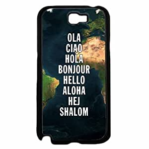 Greeting Map - TPU RUBBER SILICONE Phone Case Back Iphone 5/5S