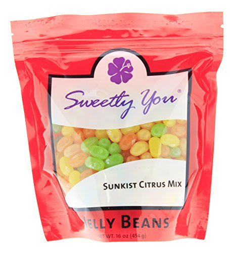 Jelly Belly 16 OZ Sunkist Citrus Mix Flavored Assorted Beans
