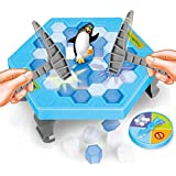 VKOPA Crashed ice game Puzzle table games penguin ice pounding penguin ice cubes save penguin knock ice block wall toys desktop paternity interactive game