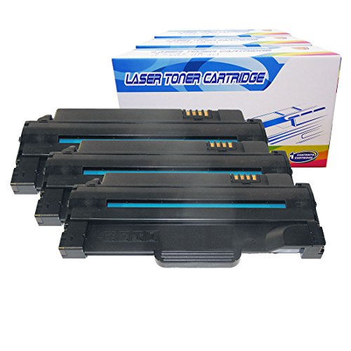 e Toner Cartridges Replacement for Dell 1135n 1130 1130n 1133 High Yield 330-9523 2.5K (Black, 3-Pack) ()