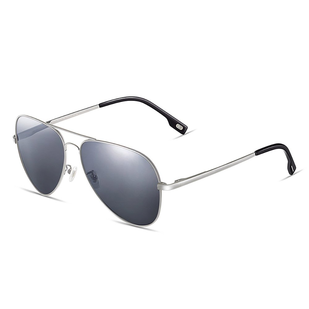 Gafas Gafas de sol polarizadas antideslizante Anti-UV ( Color : La Plata )