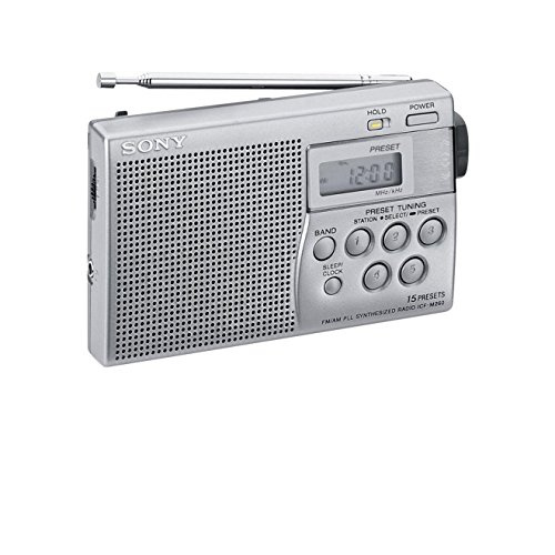 Sony ICF-M 260/S Tragbares Radio silber
