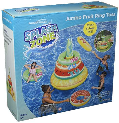 (SUMMER WAVES Jumbo Ring Toss - Donut Toss)