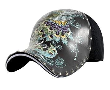 XMUMA Sombrero Gorra De Béisbol para Mujer Moda De Verano Moda ...
