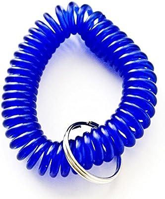 102 piezas de color azul elástico de plástico pulsera de ...