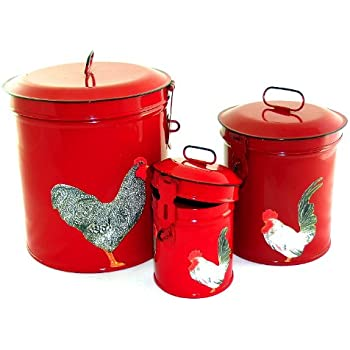 kitchen canisters french vintage country canister set kitchen storage 12965
