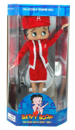 """Betty Boop """"Fight Attendantt"""" Collectible Fashion Doll with Stand"""