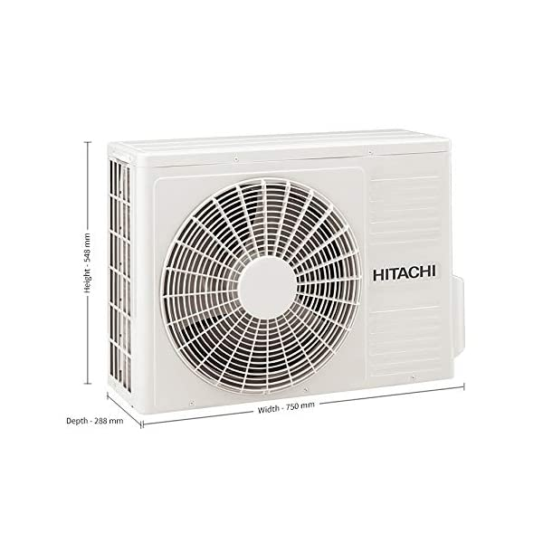 Hitachi 1.25 Ton 3 Star MERAI 3100S Champion Inverter - R410A Split AC (Copper RSFG315HDEA Gold) 2021 July Split Ac with inverter compressor: Variable speed compressor which adjusts power depending on heat load. It is most energy efficient and has lowest – noise operation. Capacity 25 Ton: Suitable for medium sized rooms (111 to 150 sq ft) Energy Rating: 3 Star, Annual Energy Consumption (as per energy label): 896.89, ISEER Value: 3.80