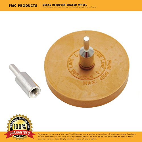 Decal Eraser (Decal Remover Eraser Wheel - 4