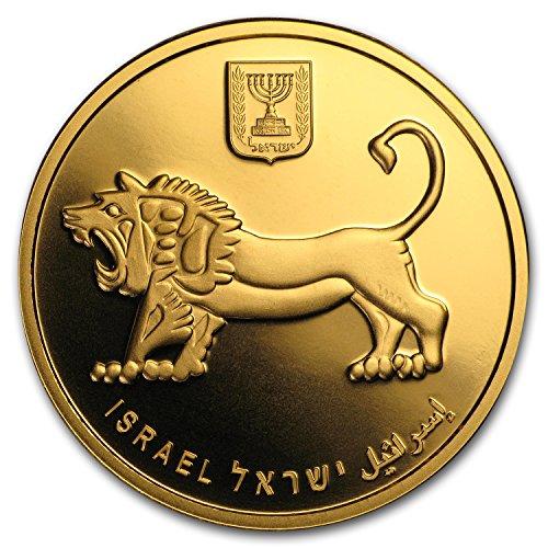 2017 IL Israel 1 oz Gold Israel Supreme Court 25th Anniversary BU 1 OZ Brilliant Uncirculated