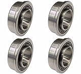 Four (4) Wheel Bearings For John Deere AM127304 L108 L118 L130 L100