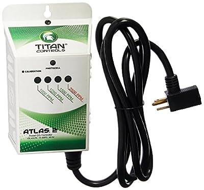Titan Controls 702618 Atlas 2 Preset Carbon Dioxide Gas Monitor and Controller