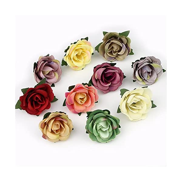 FLOWER-3cm-Mini-Rose-Head-Artificial-for-Wedding-Decoration-Ball-Craft-Fake-30pieceslot