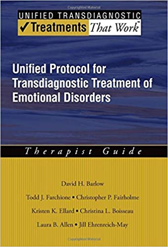 Amazon unified protocol for transdiagnostic treatment of unified protocol for transdiagnostic treatment of emotional disorders therapist guide treatments that work 1st edition fandeluxe Choice Image