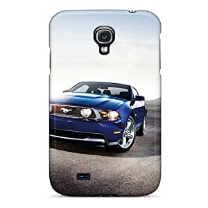 Hot IwzuJqZ1945GlVTp Ford Mustang Shelby Gt500 2012 Tpu Case Cover Compatible With Galaxy S4