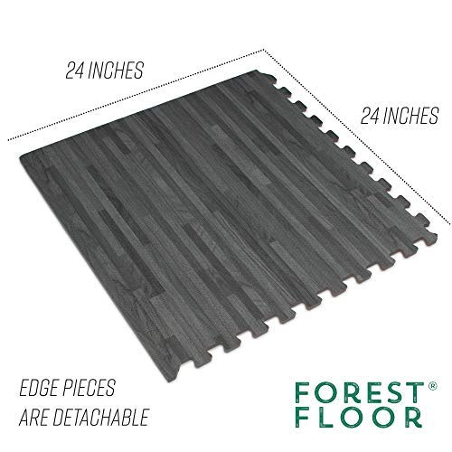 Forest Floor 3/8' Thick Printed Wood Grain...