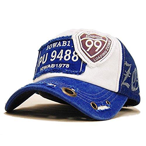 ミッサ?モーレ 帽子 メッシュキャップ99 ブルー&ブルー(NEWカラー)