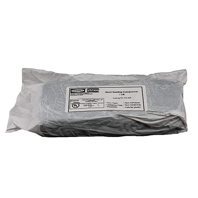 Hubbell DS-1LB Duct Sealing Compound Gray 1 lb
