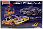 Monogram #6391 Darrell Waltrip #11 Racing Combo - 2 1:24 Plastic Model Car Kits from Monogram