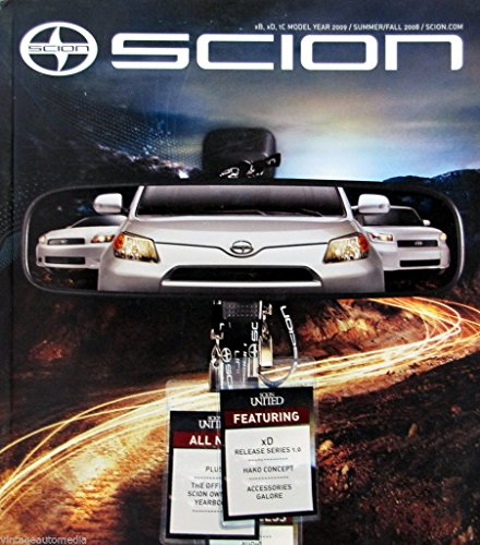 (Scion Magazine- Issue 13/Summer/Fall 2008 - Includes Full-Line brochure)