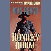 Ronicky Doone: Doone #1 | Max Brand