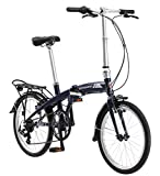 Schwinn Adapt 1 7 Speed Folding Bike, Gloss Navy, 16''/One Size/20''