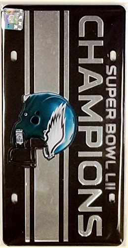 Stockdale Philadelphia Eagles Super Bowl Champions Helmet 23248 Premium Laser Tag Acrylic Cut Inlaid License Plate Football ()