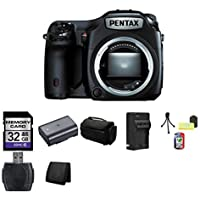 Pentax 645Z Medium Format DSLR Camera (Black) Bundle 1