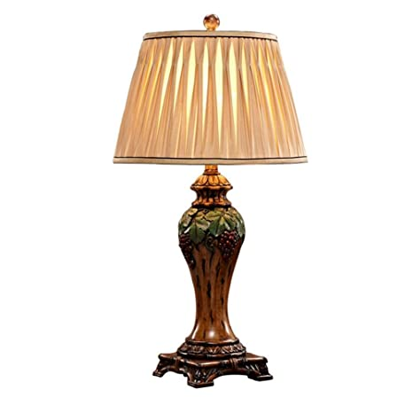 Led Lamps Latest Collection Of Europe The United States Simple Wooden Table Lamp Creative Retro Cloth Lampshade Lamp Bedroom Bedside Lamp Fixture Decoration Latest Fashion Led Table Lamps