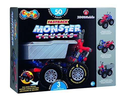 (ZOOB RacerZ Fastback Monster Trucks by ZOOB)