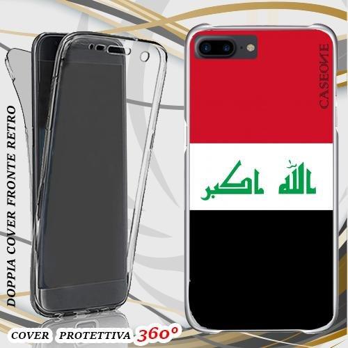 CUSTODIA COVER CASE IRAQ PER IPHONE 7 PLUS FRONT BACK