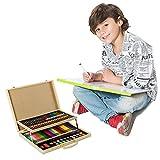 conda-and-kiddy-color-creative-set-with-aluminum-art-case-133-piece-pcs-children-4-12