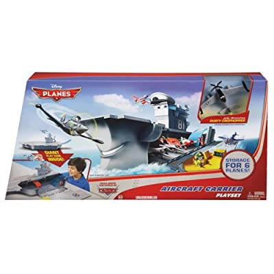 Amazing Disney/Pixar Planes Yorkie Aircraft Carrier Playset by Mattel
