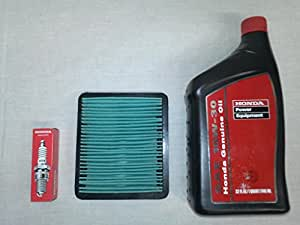 amazoncom genuine honda eu generator oil change kit service tune  automotive