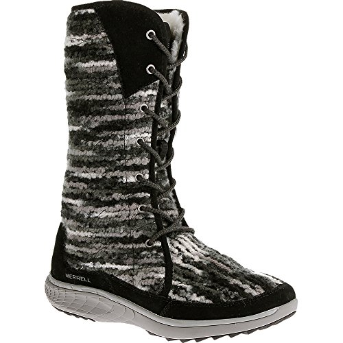 Merrell Women's J42852, Black, 9 M US (Merrell Women Boots Winter)