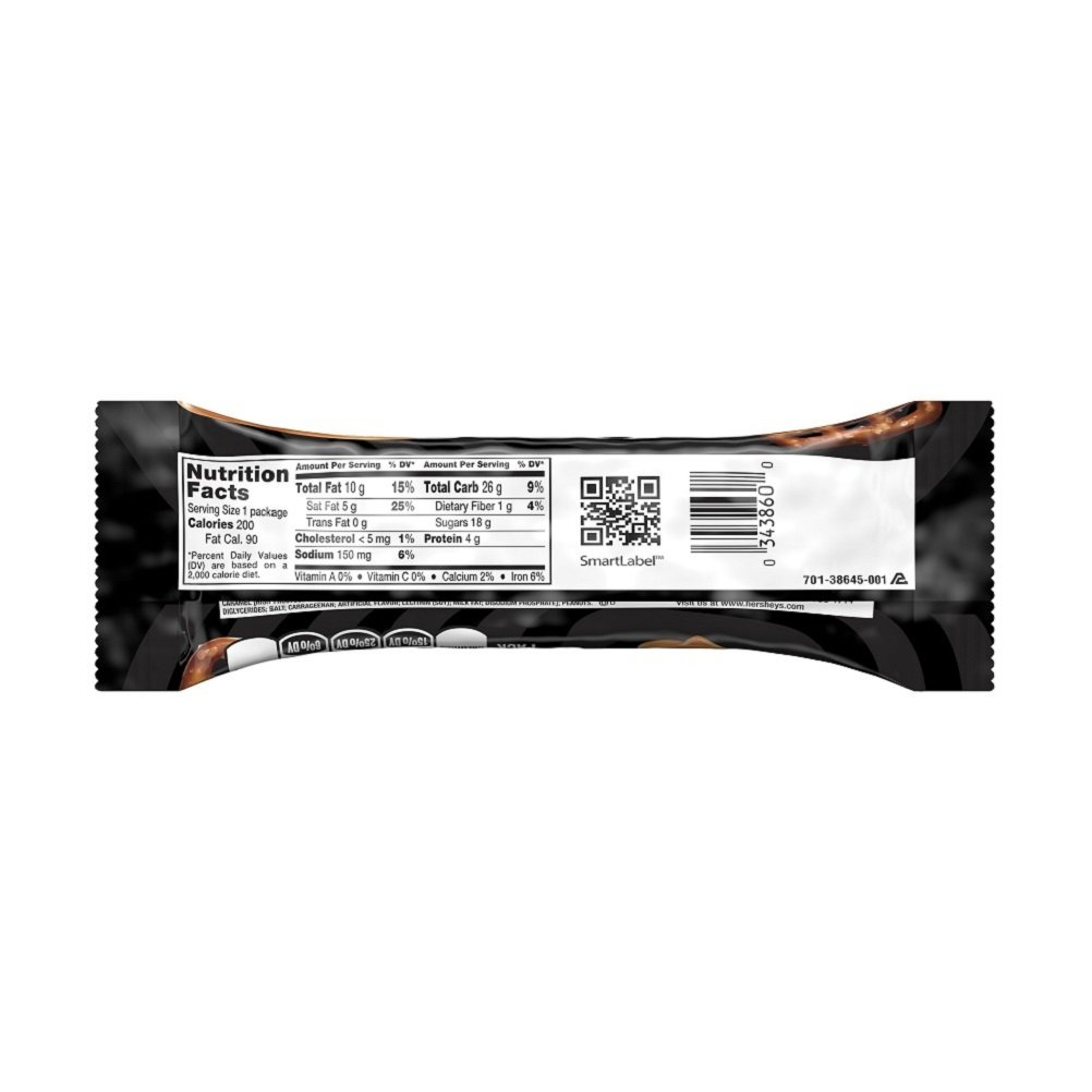 TAKE5 Chocolate Candy Bar with Peanuts (Pack of 18) by Take 5 (Image #3)