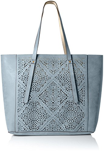 t-shirt-jeans-tote-with-laser-perforation-blue