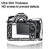 Clanmou DSLR Camera Screen Film G7 X G7X Mark II Camera Tempered Glass Screen Protector for Canon G7X Digital Camera Accessory