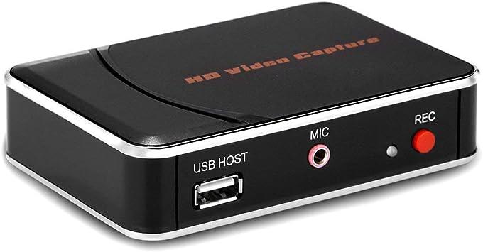 Y&H [EU Plug Tarjeta de Captura de Juegos HDMI, grabación de Video Full HD 1080P, Captura