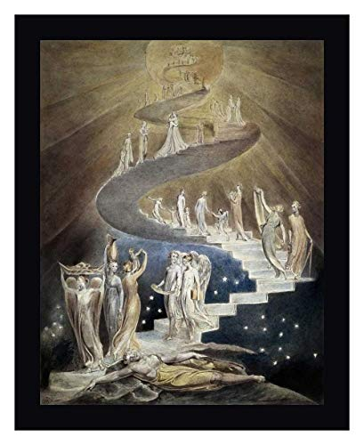 Jacobs Ladder by William Blake - 12