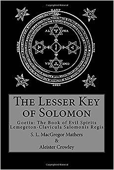Book The Lesser Key of Solomon