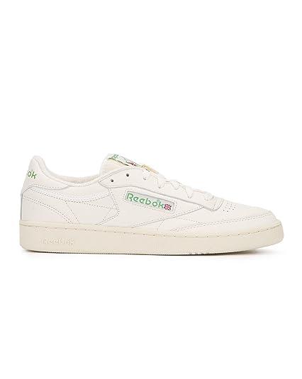 save off ad02b 4144b Reebok - Sportswear - Club C 85 Vintage - Chalk - 6.5  Amazon.co.uk  Shoes    Bags