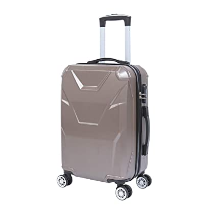 4dec06e9c0f6 Amazon.com: Wetietir Luggage Suitcase Stylish Luggage, Lightweight ...