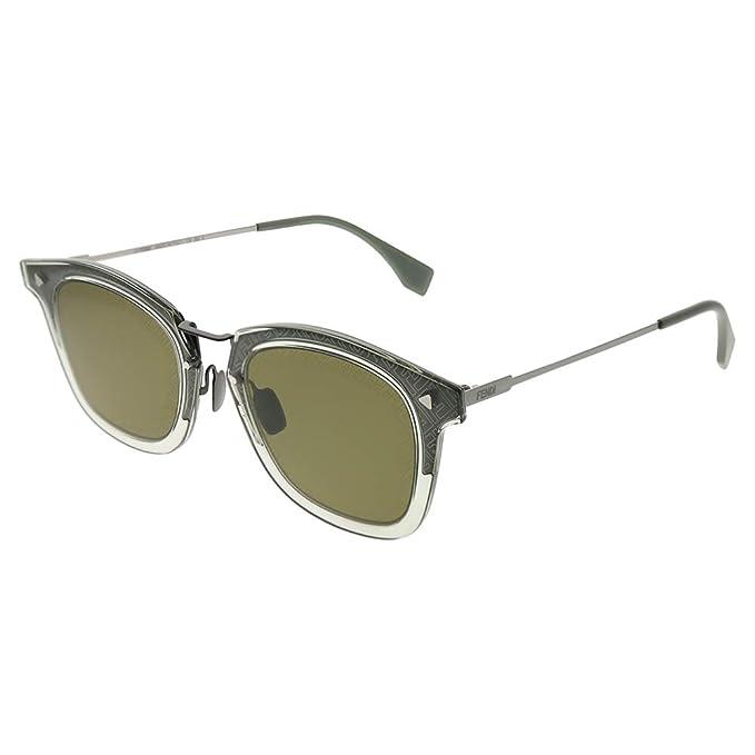 Gafas de Sol Fendi FF M0045/S GREY GREEN hombre: Amazon.es ...