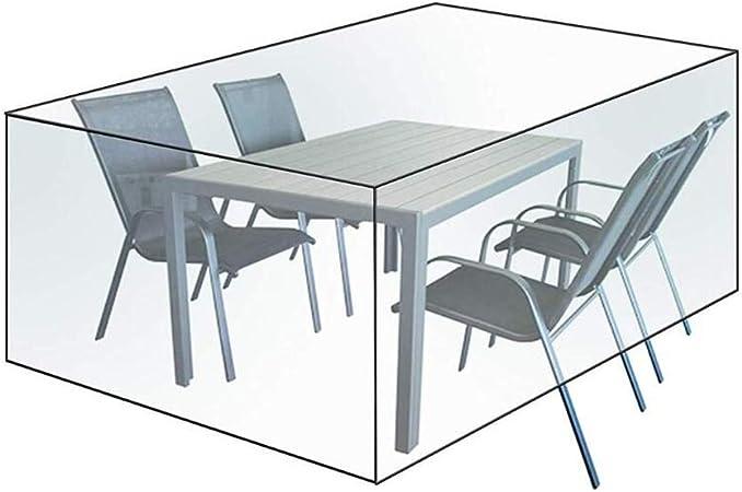 AGLZWY Funda Muebles Jardin Impermeable Transparente Lona Alquitranada Protector Mesa De Café Dispositivo A Prueba De Polvo Anti-oxidación, 31 Tamaños (Size : 70x70x70cm): Amazon.es: Hogar
