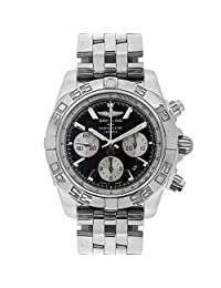 Breitling Chronomat B01 automatic-self-wind mens Watch AB0110 Black Dial (Certified Pre-owned)
