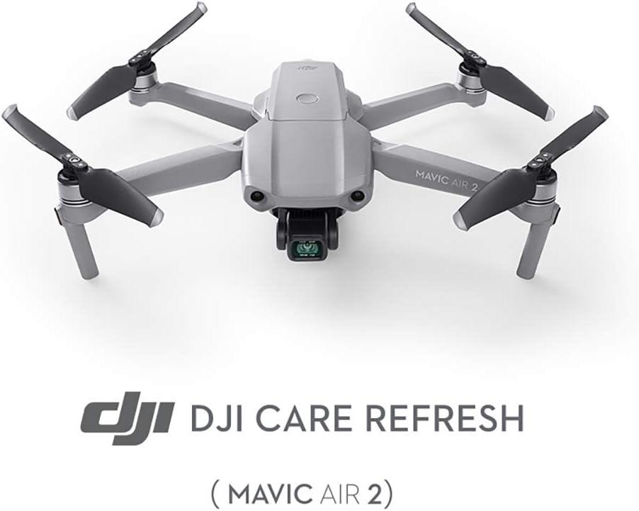DJI Mavic Air 2 - Care Refresh, Seguro Completo para el Drone (Válido 12 Meses), hasta 2 Reemplazos, Activación en 24 Horas, Soporte Rápido, Cobertura de Daños por Agua, Accesorios Mavic Air 2